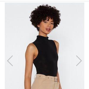 Nasty Gal Sleeveless Bodysuit